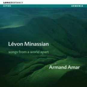 Arménie : Songs from a world apart | Levon Minassian (1958-....). Chanteur