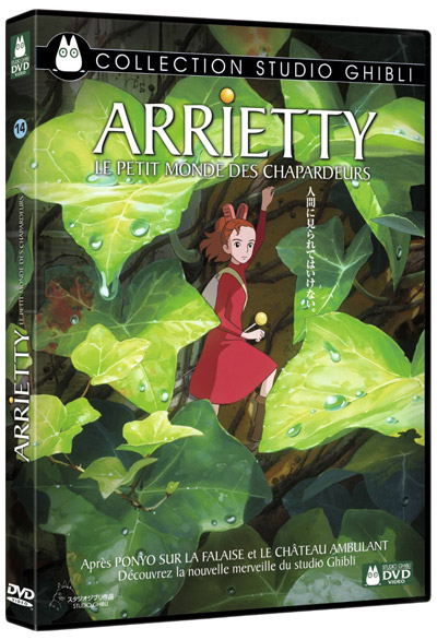 Arrietty : le petit monde des chapardeurs = Kari-gurashi no Arietti | Yonebayashi, Hiromasa. Monteur