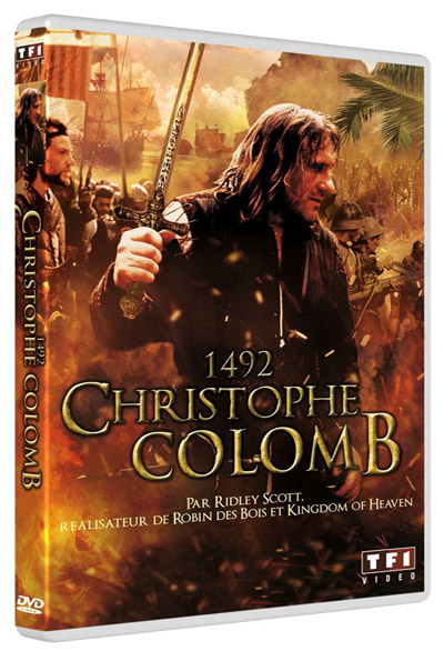 1492, Christophe Colomb. DVD = 1492 : Conquest of Paradise / Ridley Scott, réal. | Scott, Ridley. Monteur