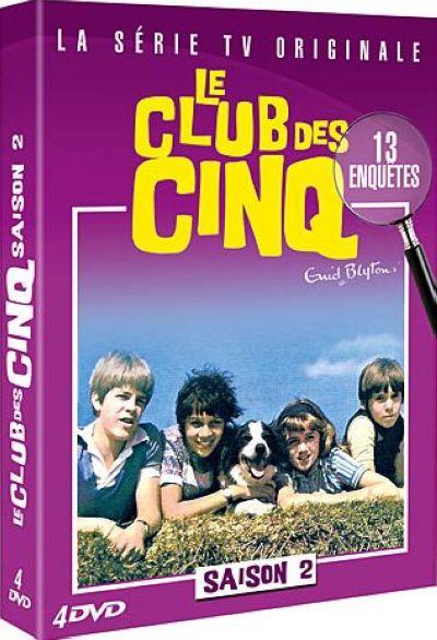 Le Club des cinq . DVD : La série TV originale . Saison 2 = The Famous 5 / Peter Duffell, Sidney Hayers, Don Leaver, James Gatward, David Pick, Pat Jackson, réal.   