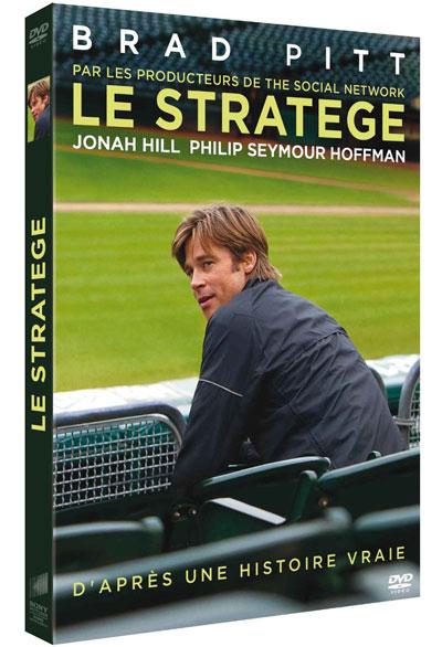 Le Stratège / Bennett Miller, réal. ; Brad Pitt, Jonah Hill, Philip Seymour Hoffman, Robin Wright, Kerris Dorsey, Chris Pratt, act.  