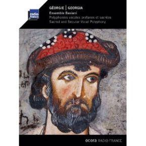 Géorgie : polyphonies vocales profanes et sacrées / Ensemble Basiani |