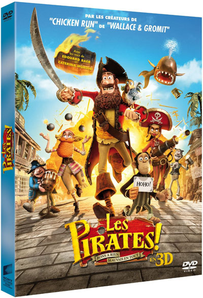 Les Pirates ! : Bons à rien, Mauvais en tout / Peter Lord, réal. | Lord, Peter - Réal.. Monteur