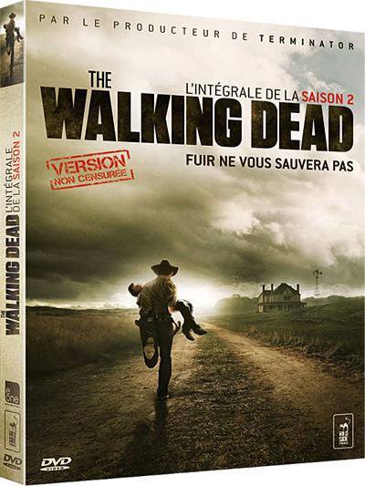The Walking Dead : fuir ne vous sauvera pas / Frank Darabont, auteur ; interprété par Andrew Lincoln, Jon Bernthal, Sarah Wayne Callies,  