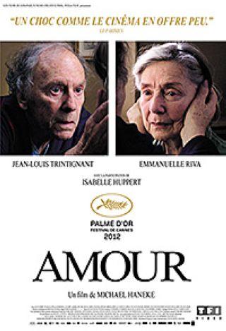 Amour / Michael Haneke, réal. ; Jean-Louis Trintignant, Emmanuelle Riva, Isabelle Huppert, act. |