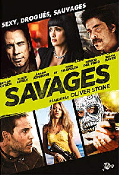 Savages / Oliver Stone, réal., scénario   Stone, Oliver (1946-) - Réal.. Monteur