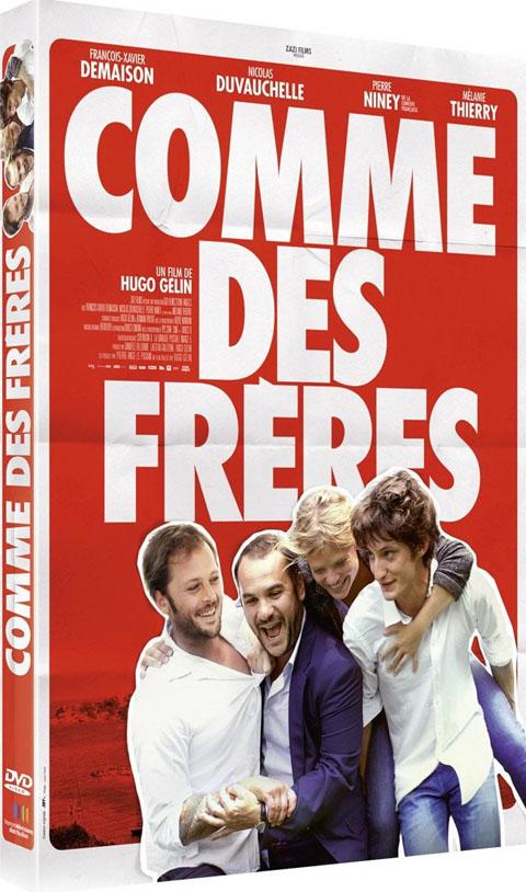 Comme des frères. DVD / Hugo Gélin, réal. | Gélin, Hugo. Monteur. Scénariste