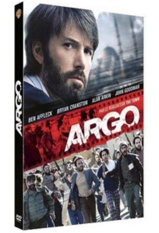 Argo / réalisé par Ben Affleck, ; Ben Affleck, Bryan Cranston, John Goodman, Alan Arkin, Kyle Chandler, Chris Messina, interpretes .  
