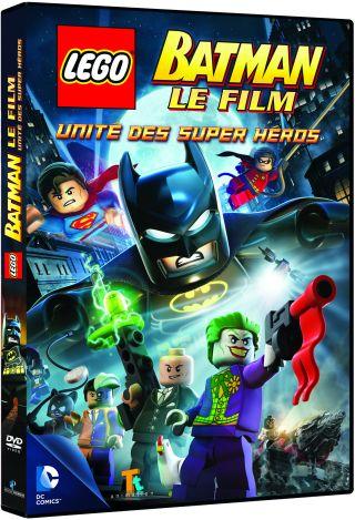 LEGO Batman : le film. DVD : Unité des supers héros / Jon Burton, réal. | Burton, Jon. Monteur. Scénariste