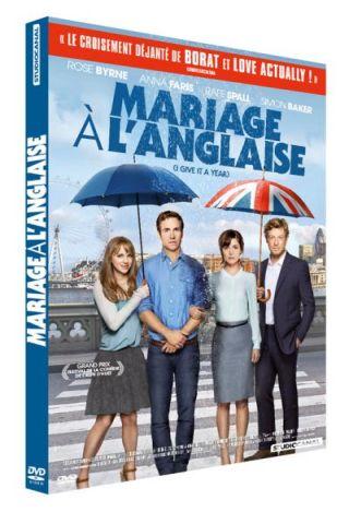 Mariage à l'anglaise / Dan Mazer, réal et scénario ; Rose Byrne, Rafe Spall, Simon Baker, Anna Faris,  [ et al] act.  