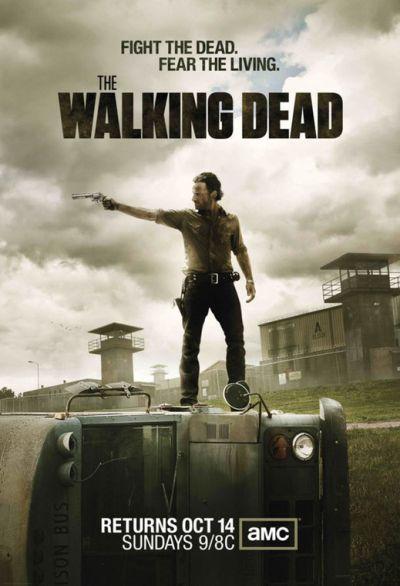 The Walking Dead / Frank Darabont, Robert Kirkman, Glen Mazzara, scénario ; Andrew Lincoln, Jon Bernthal, Sarah Wayne Callies, act. |