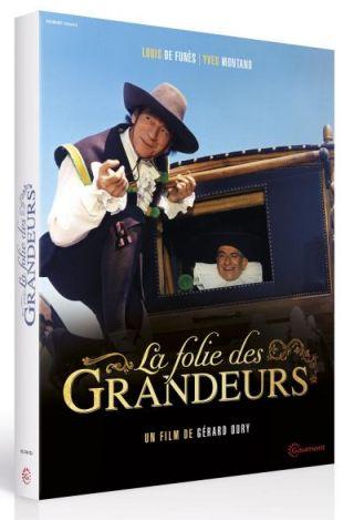 La Folie des grandeurs. DVD / Gérard Oury, réal.   Oury, Gérard. Monteur. Scénariste