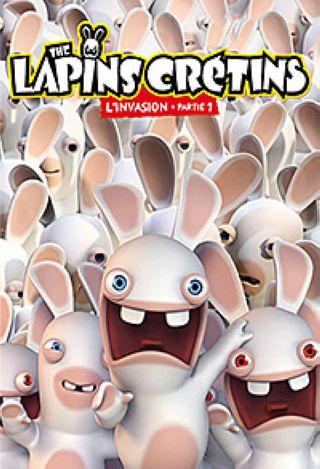 Les Lapins crétins Invasion - partie 1. DVD. Partie 1  