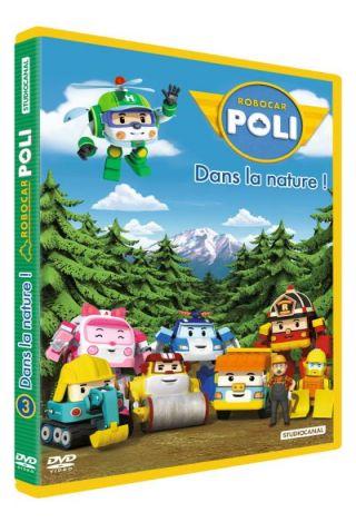 Robocar Poli. Dans la nature !. DVD. Volume 3, Dans la nature !  