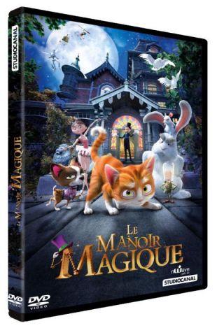 Le Manoir magique / Ben Stassen, Jeremy Degruson, réal. | Stassen, Ben - Réal.. Monteur. Scénariste