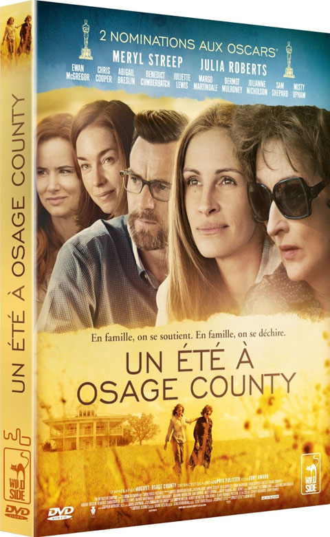 Eté à Osage County (Un). DVD / John Wells, réal. | Wells, John. Monteur