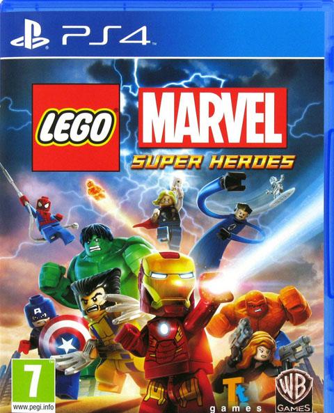 Lego Marvel : Super Heroes : PS4 |