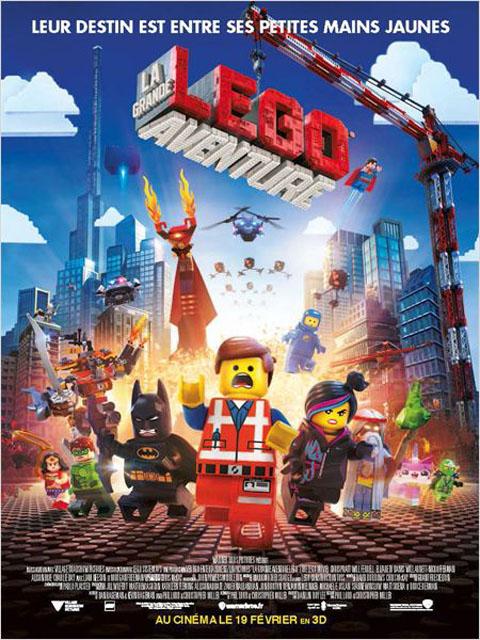 LEGO - La grande Aventure Lego. DVD / Phil Lord, Chris Miller, réal. | Lord, Phil. Monteur. Antécédent bibliographique. Scénariste