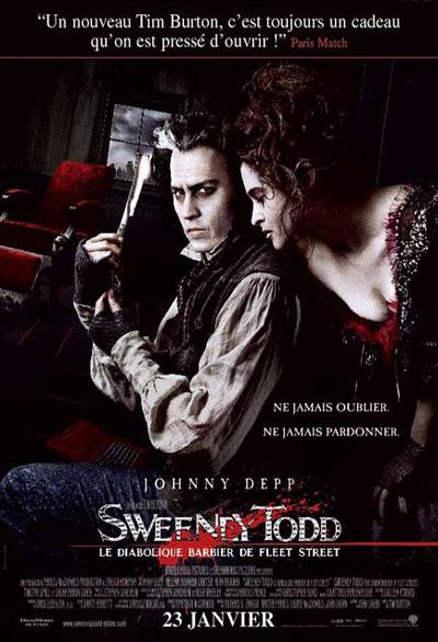 Sweeney Todd : Le Diabolique barbier de Fleet Street = Sweeney Todd: The Demon Barber of Fleet Street   Burton, Tim (1958-....). Monteur