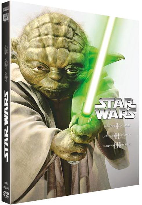 Star Wars : La Prélogie (Episode 1 à 3) : La menace fantôme,L'attaque des clones, La revanche des Sith = Star Wars | Lucas, George. Monteur