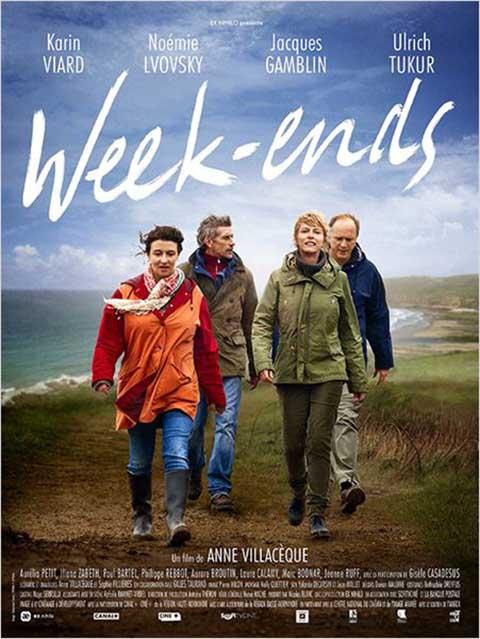Week-ends / Anne Villacèque, réal. ; Karin Viard, Noémie Lvovsky, Jacques Gamblin, Ulrich Tukur, Aurélia Petit, Iliana Zabeth, act. |