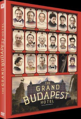 The Grand Budapest Hotel / Wes Anderson, scénariste et réal. ; Mathieu Amalric, Adrien Brody, Willem Dafoe,[ et al ]act.   Anderson, Wes [Réalisateur du film] [Scénariste]