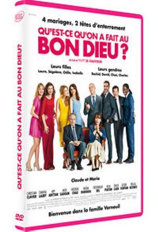 Qu'est-ce qu'on a fait au Bon Dieu ?. DVD / Philippe de Chauveron, réal. | Chauveron, Philippe de. Monteur. Scénariste