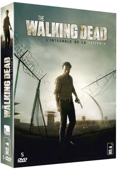 The Walking Dead / Charlie Adlard, Robert Kirkman, Tony Moore, auteur ; Andrew Lincoln, Chandler Riggs, Steven Yeun, David Morrissey, [ et al ] act. |