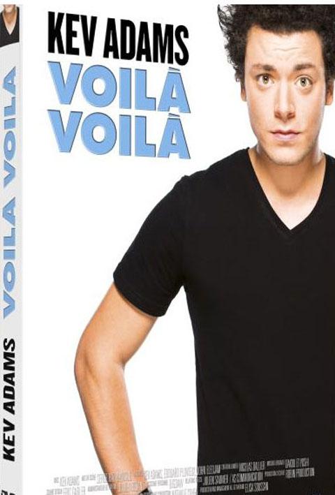 Kev Adams - Voilà voilà . DVD  