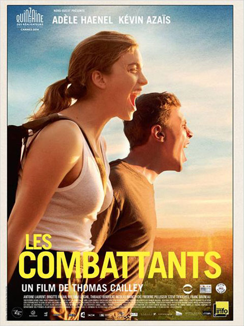 Les Combattants / Thomas Cailley, réal. ; Adèle Haenel, Kevin Azaïs, William Lebghil, act. |