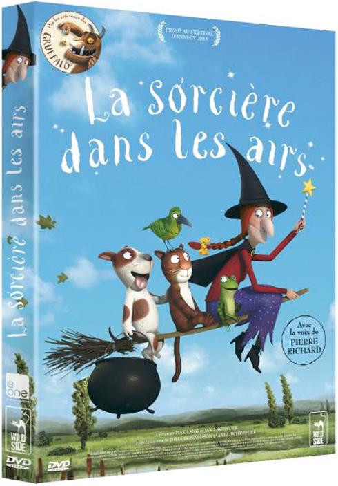 La Sorcière dans les airs = Room on the Broom / Jan Lachauer, Max Lang, réal.  | Lachauer, Jan. Metteur en scène ou réalisateur