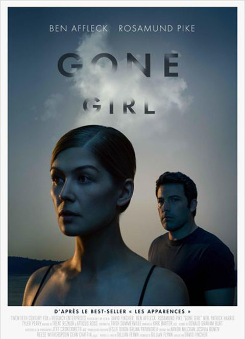Gone Girl / David Fincher, réal. ; Ben Affleck, Rosamund Pike, Scoot McNairy, Carrie Coon, Missi Pyle, Neil Patrick Harris, act. |