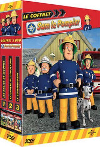 Sam le Pompier : la chasse au dinosaure. Volume 2
