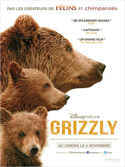 Grizzly = Bears | Fothergill, Alastair. Monteur