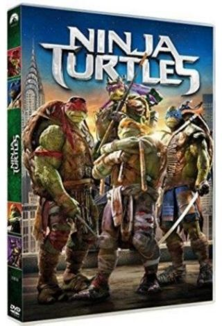 Ninja Turtles = Teenage Mutant Ninja Turtles | Liebesman, Jonathan. Monteur