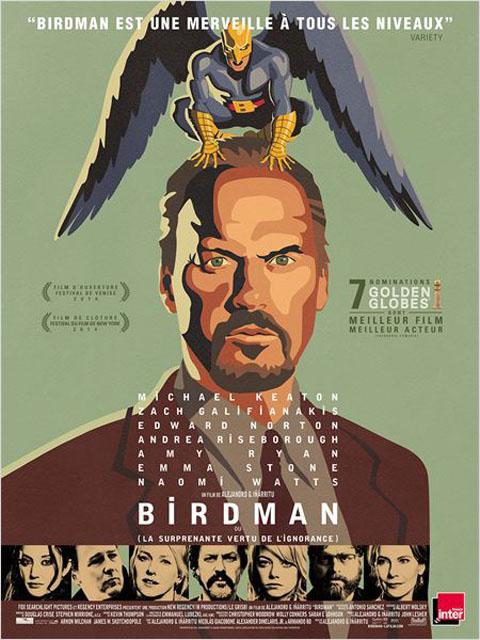 Birdman : ou la surprenante vertu de l'ignorance = Birdman or (The Unexpected Virtue of Ignorance) | Gonzalez Inarritu, Alejandro. Monteur