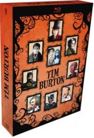 Tim Burton - Coffret 9 films = Pee-wee's Big Adventure + Bettlejuice + Batman + Batman Returns + Mars Attacks! + Charlie and the Chocolate Factory + Corpse Bride + Sweeney Todd: The Demon Barber of Fleet Street + Dark Shadows | Burton, Tim. Monteur