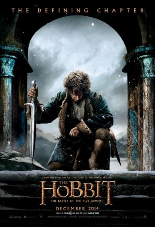 Hobbit (Le) : La Bataille des Cinq Armées = The Hobbit: The Battle of the Five Armies | Jackson, Peter. Monteur