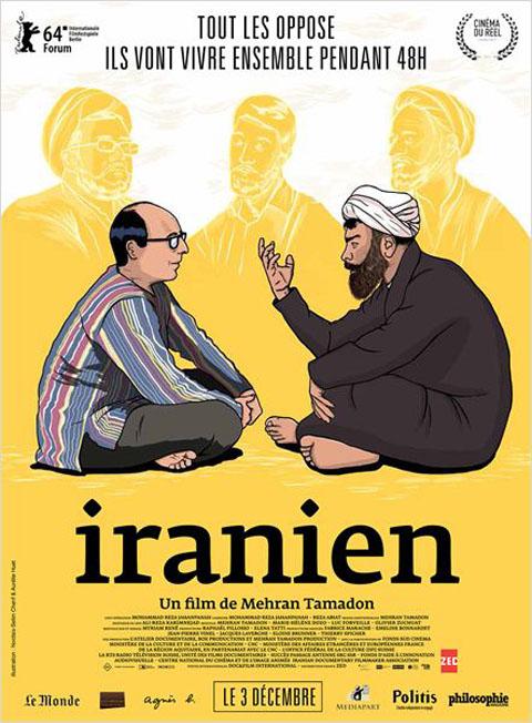 Iranien. DVD / Mehran Tamadon, réal. | Tamadon, Mehran. Monteur. Scénariste