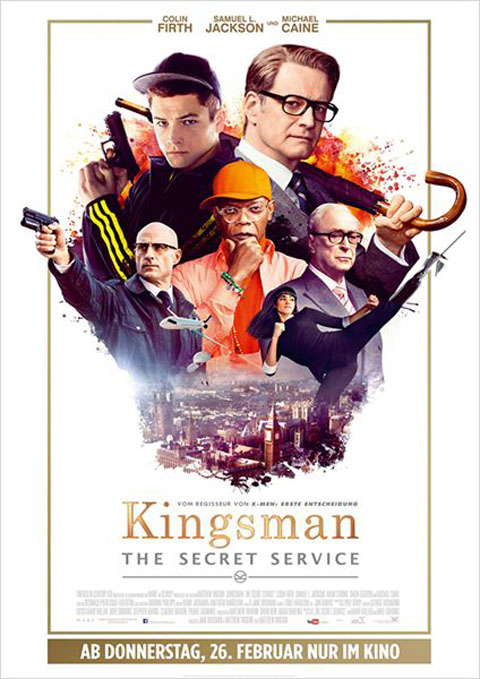 Kingsman : Services secrets = Kingsman : The Secret Service |