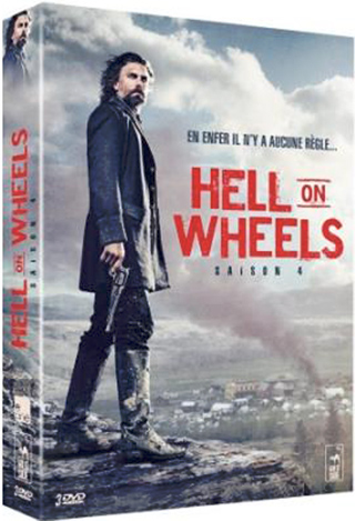 Hell on Wheels. Saison 4 = Hell on Wheels | Von Ancken, David. Monteur