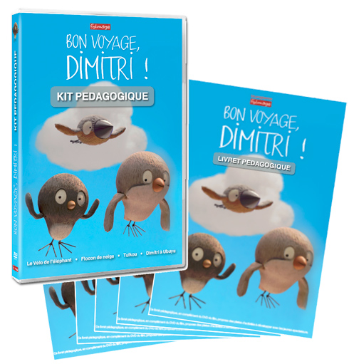 Bon voyage, Dimitri ! : [quatre courts métrages]