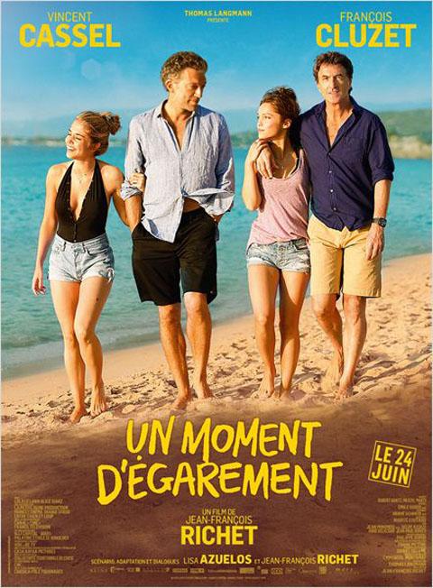 Un Moment d'égarement / Jean-François Richet, réal. ; Vincent Cassel,François Cluzet,Alice Isaaz Philippe [et al] |