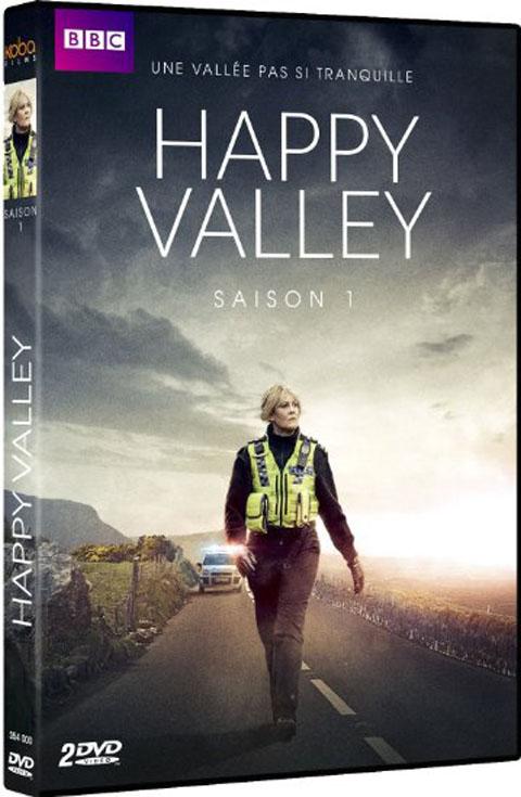vignette de 'Happy valley -DVD- n° 1<br /> Happy Valley (Euros Lyn)'