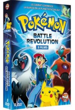 Pokémon - Battle Revolution : 3 Films = Pokemon 4Ever + Pokémon: Jirachi - Wish Maker + Pokemon: Destiny Deoxys |