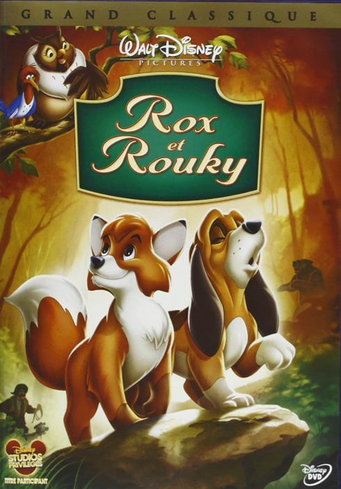 Rox et Rouky [Édition 25ème Anniversaire] : (Sous réserve de disponibilité) = The Fox and the Hound / Ted Berman, Richard Rich, Art Stevens, réal.  | Berman , Ted . Metteur en scène ou réalisateur