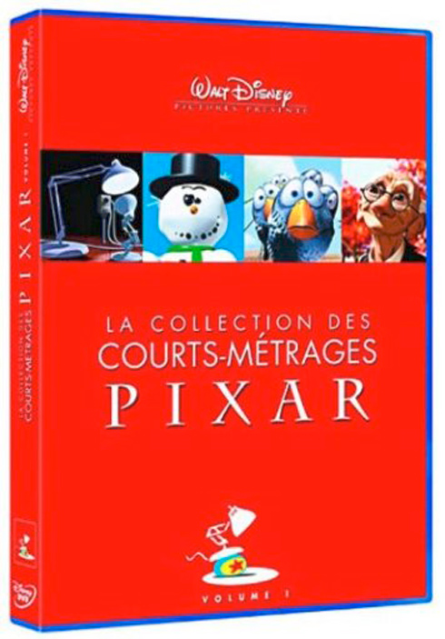 La collection des courts métrages Pixar : Volume 1