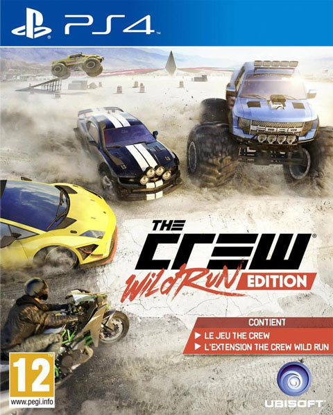 The Crew - PS4 : wild run edition / developed by Ivory Tower |