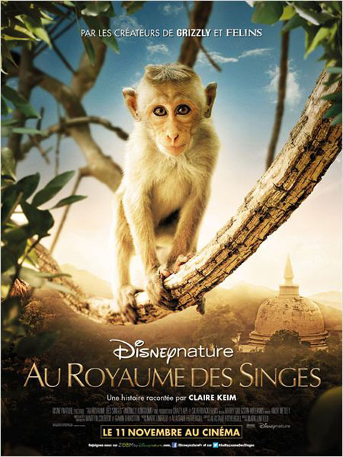 Au Royaume des Singes = Monkey Kingdom | Linfield, Mark. Metteur en scène ou réalisateur