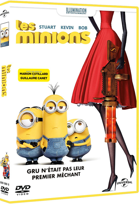 Les Minions. DVD = The Minions / Pierre Coffin, Kyle Balda, réal. | Coffin, Pierre. Monteur